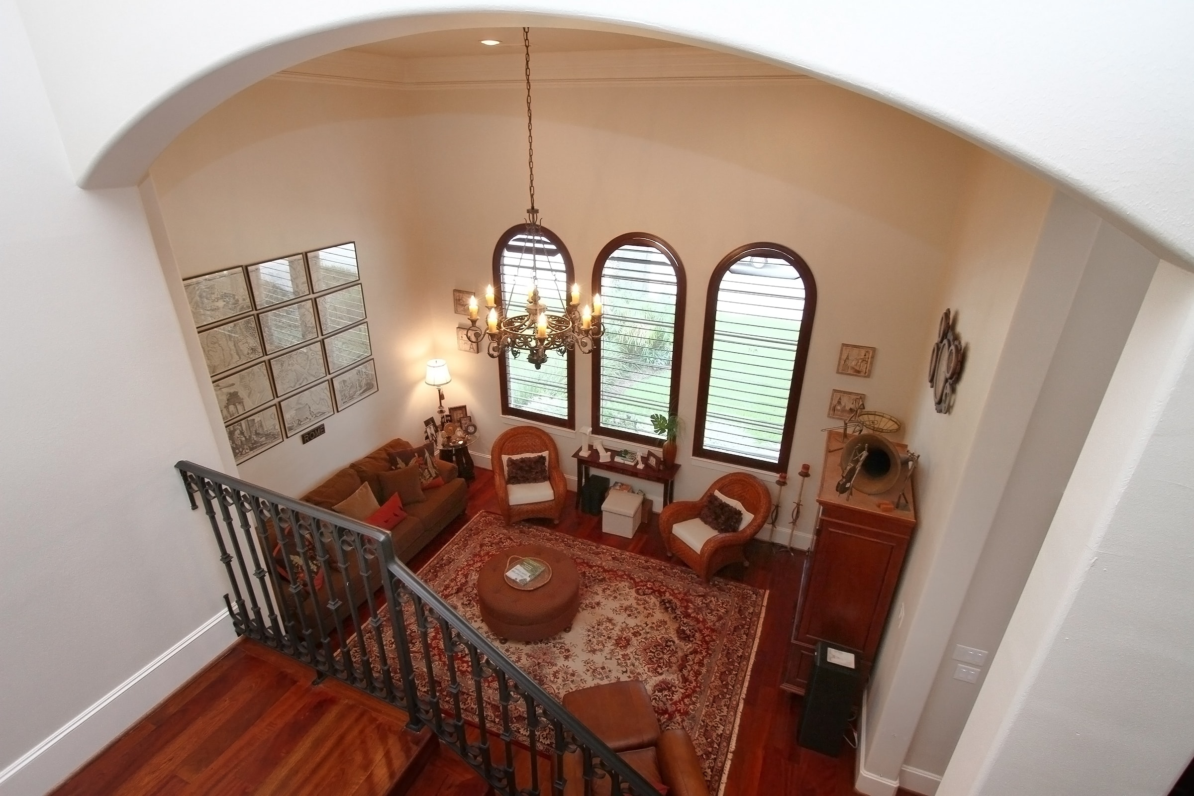 Foyer View from Staircase