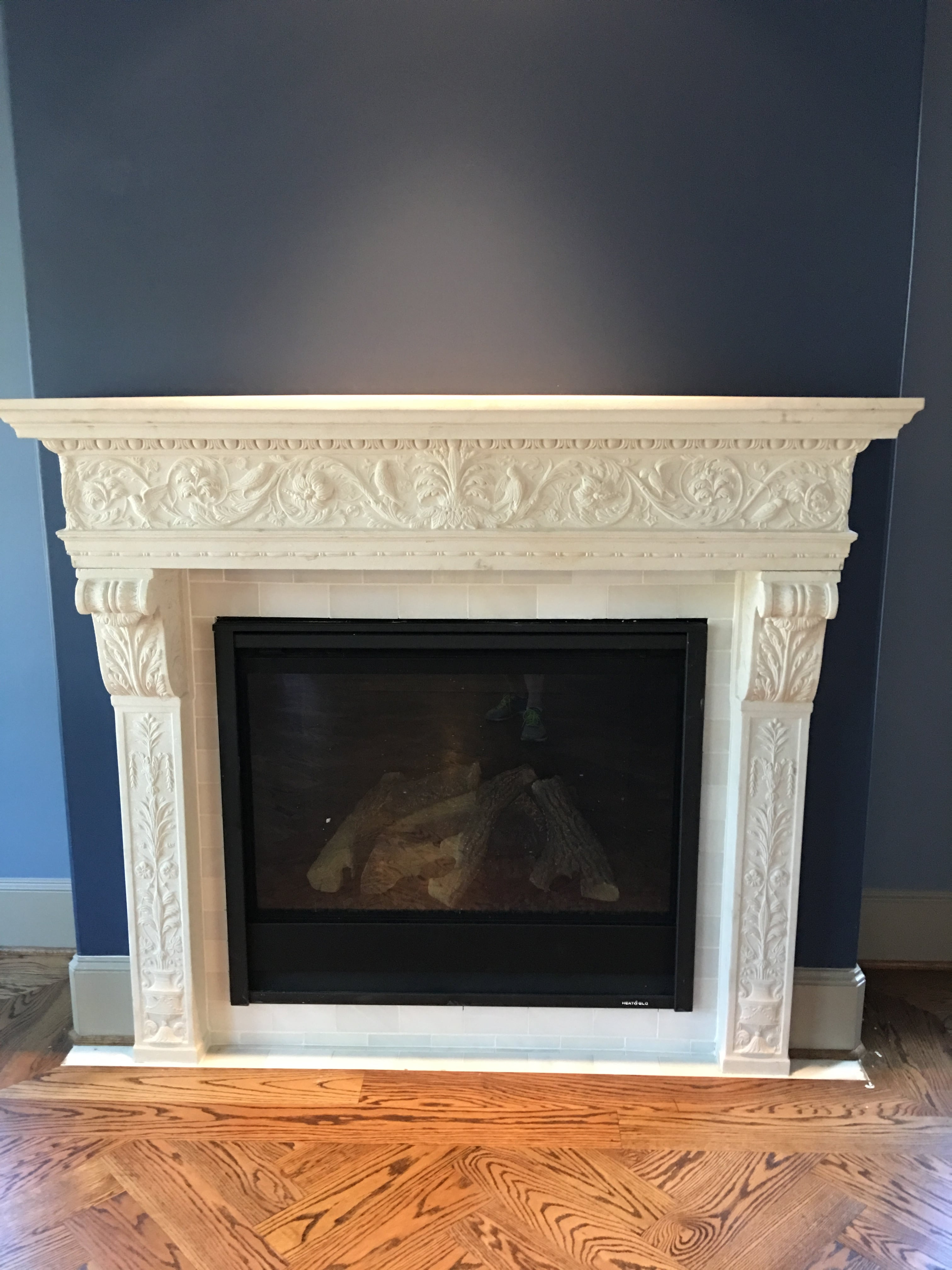 McClendon House Fireplace